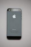 Il nero di Iphone 5 Fotografie Stock