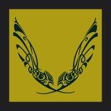 Il nero e colore giallo Immagini Stock Libere da Diritti