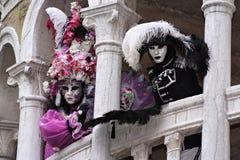 Il nero e porpora Fotografie Stock