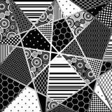 Il nero e wight di Abstratcion Immagine Stock Libera da Diritti