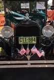 Il nero Ford Pickup 1929 al Car Show classico del trentaduesimo deposito annuale di Napoli fotografie stock libere da diritti