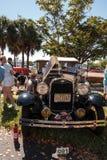 Il nero Ford Pickup 1929 al Car Show classico del trentaduesimo deposito annuale di Napoli immagini stock