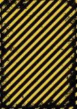 Il nero giallo Fotografia Stock