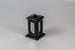 Il nero grave della candela Fotografia Stock