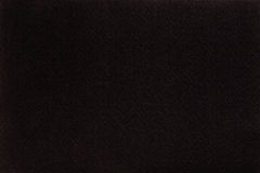 Il nero ha ritenuto il panno del tessuto, fondo di struttura del primo piano Fotografia Stock