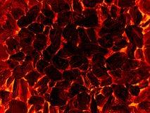 Il nero minerale del carbone Fotografie Stock Libere da Diritti
