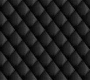 Il nero senza cuciture della tappezzeria Fotografie Stock