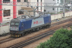 Il nessun armonioso locomotiva a SHENZHEN fotografie stock libere da diritti