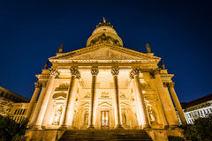 Il Neue Kirche alla notte, a Berlino, la Germania Immagine Stock Libera da Diritti