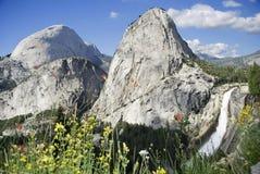 Il Nevada cade in Yosemite Fotografia Stock Libera da Diritti