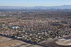 Il Nevada di termine suburbano Fotografia Stock Libera da Diritti