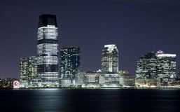 Il New Jersey nella notte Fotografia Stock