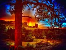 Il New Mexico Immagini Stock Libere da Diritti