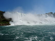 Il Niagara Falls Immagini Stock Libere da Diritti