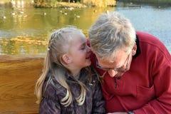Il nonno è il meglio Immagine Stock