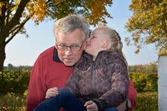 Il nonno è il meglio Immagini Stock