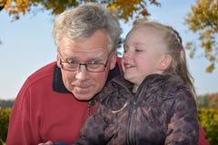Il nonno è il meglio Fotografia Stock