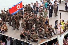 Il Nord Corea 2013 Fotografie Stock Libere da Diritti