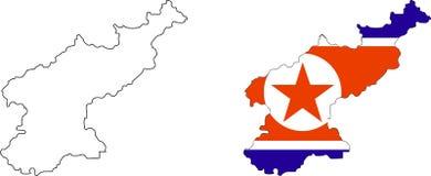 Il Nord Corea Fotografie Stock Libere da Diritti