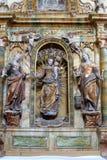 Il nostro altare di signora nella cappella della st Wolfgang in Vukovoj, Croazia Immagine Stock Libera da Diritti