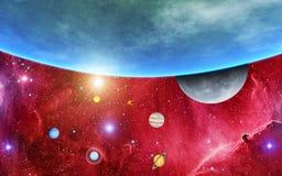 Il nostro sistema solare Fotografia Stock