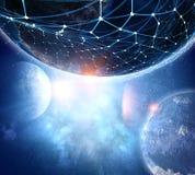 Il nostro universo unico Immagine Stock