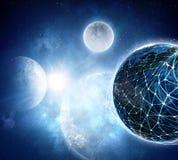 Il nostro universo unico Immagine Stock Libera da Diritti