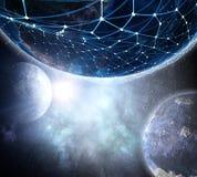 Il nostro universo unico Immagini Stock Libere da Diritti