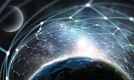 Il nostro universo unico Fotografie Stock