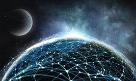 Il nostro universo unico Immagini Stock