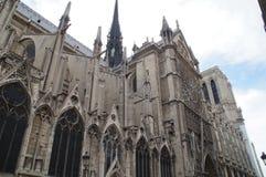 Il Notre-Dame de Paris della cattedrale - Francia Immagini Stock