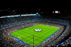 Il nou Barcellona del campo sostiene la lega Fotografia Stock