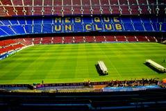 Il nou Barcellona del campo sostiene la lega Fotografie Stock Libere da Diritti