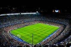Il nou Barcellona del campo sostiene la lega Immagini Stock Libere da Diritti