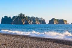 Il NP olimpico, spiaggia di Rialto, costa del Pacifico Immagine Stock