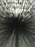 Il nucleo della sfera dell'acqua fotografia stock