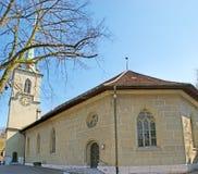 Il Nudeggkirche a Berna Fotografia Stock Libera da Diritti