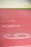Il numero usato per gli atleti Fotografie Stock