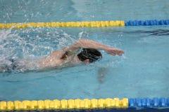 Il nuotatore Fotografia Stock
