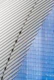 Il nuovi transito e vendita al dettaglio del hub del trasporto del World Trade Center Fotografie Stock Libere da Diritti