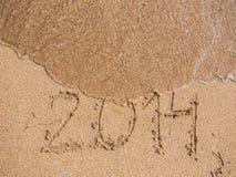 Il nuovo anno 2014 è concetto venente Fotografie Stock Libere da Diritti