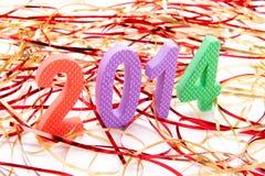 Il nuovo anno è qui! Fotografia Stock