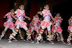 Il nuovo anno cinese il 14 febbraio 2010 Fotografie Stock Libere da Diritti