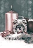 Il nuovo anno conta alla rovescia, immagine tonificata Immagini Stock Libere da Diritti