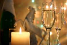 Il nuovo anno del cavallo Immagine Stock
