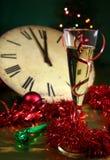 Il nuovo anno sta venendo Fotografie Stock