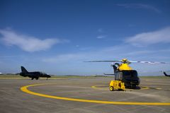 Il nuovo elicottero 139 Fotografia Stock Libera da Diritti
