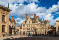 Il nuovo istituto universitario a Oxford fotografie stock libere da diritti