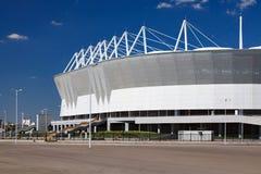 Il nuovo stadio per il campionato 2018 del mondo Fotografia Stock Libera da Diritti