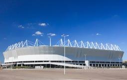Il nuovo stadio per il campionato 2018 del mondo Immagine Stock